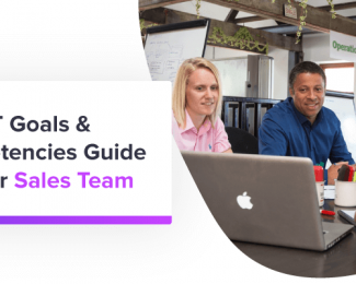 SMART goals & competencies guide - sales team